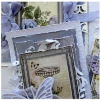 "SORRY - SOLD OUT  !!    Butterfly Kisses Card Set  - Card Making at its finest - A ""SENZATIONAL"" CLASS by Kerrie Gurney"